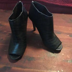 Ann Marino Peep Toe Bootie